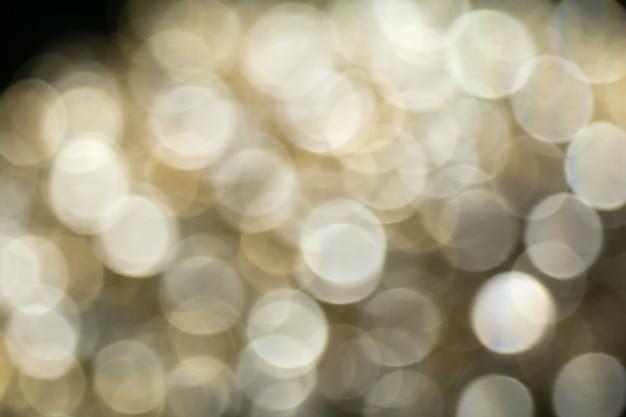 Diamanten und gold verschwommen Premium Fotos
