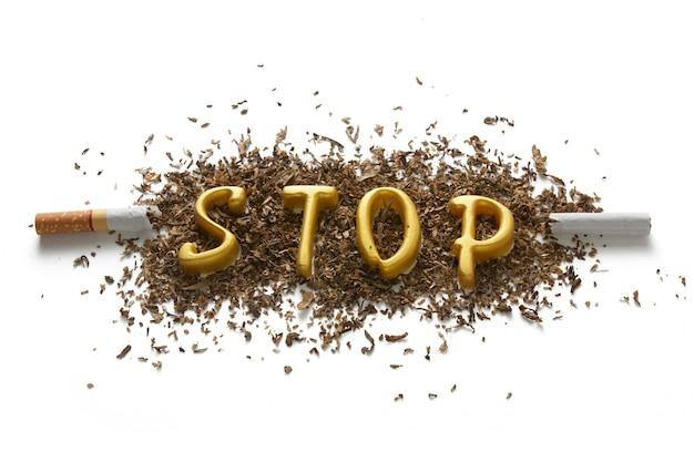 Die gefahren des rauchens Premium Fotos