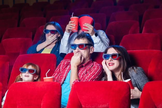 Die gefühle der menschen im kino Kostenlose Fotos