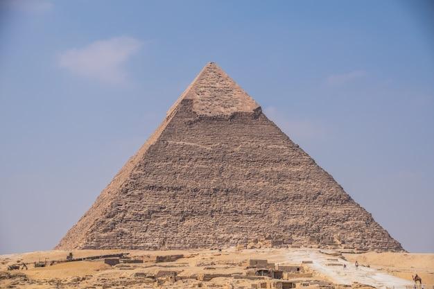 Die große pyramide von giza Premium Fotos