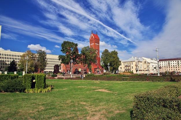 Die kirche in minsk, weißrussland Premium Fotos