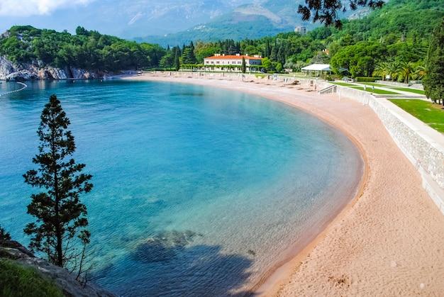 Die schönen strände von montenegro Premium Fotos