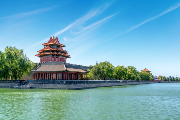 Die verbotene stadt in peking, china Premium Fotos