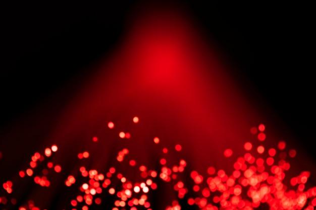 Digitale glasfaserlichter des roten lichts Kostenlose Fotos