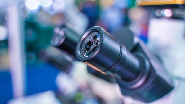 Digitale mikroskopkamera Premium Fotos