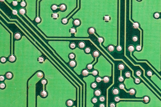 Digitaler chip der hauptplatine. Premium Fotos