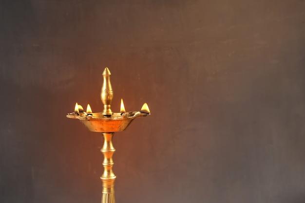 Diwali-lampe Premium Fotos