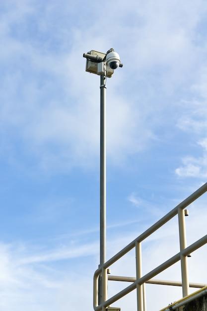 Dome-überwachungskamera Premium Fotos