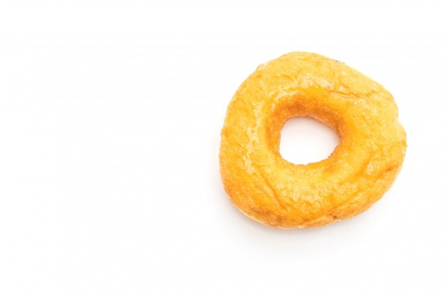 Donut, isoliert auf weiss Premium Fotos