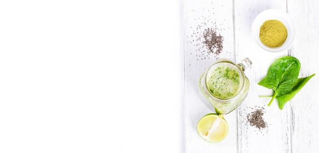 Draufsicht auf frische Limonade Kostenlose Fotos