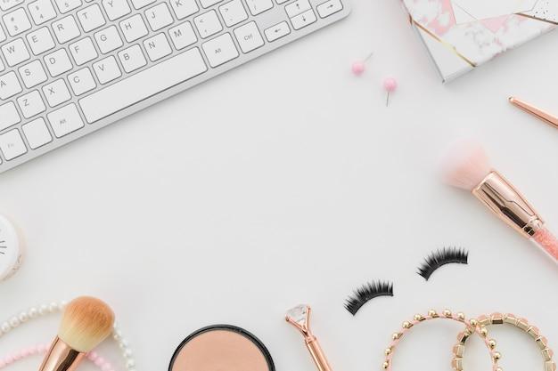 Draufsicht machen mit tastatur auf Kostenlose Fotos