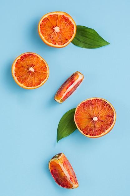 Draufsicht orangen Kostenlose Fotos