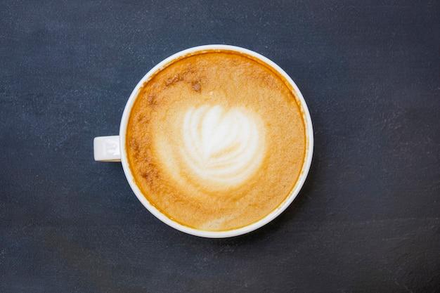 Draufsicht tasse kaffee Kostenlose Fotos