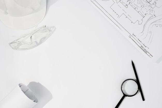 Draufsichtanordnung mit bauteilen Kostenlose Fotos