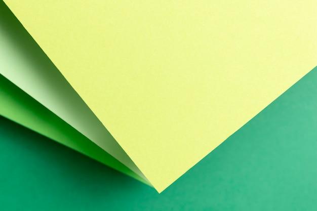 Draufsichtmuster mit grünen abstufungen Kostenlose Fotos