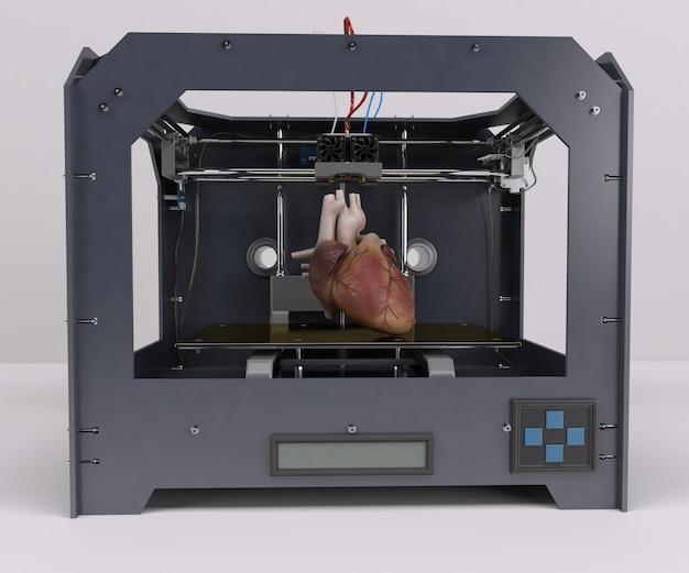 Drucken eines menschlichen Herzens   Download der kostenlosen Fotos