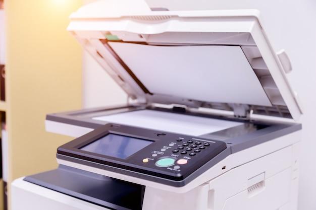 Drucker scanner laser büro. Premium Fotos