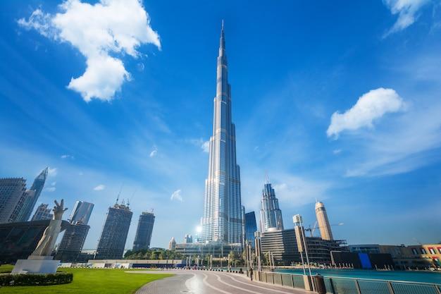 Dubai burj khalifa Premium Fotos