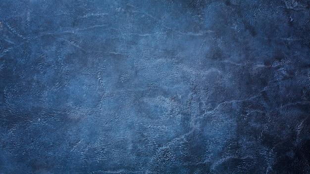 Dunkelblauer marmorbeschaffenheitshintergrund mit kopienraum Premium Fotos