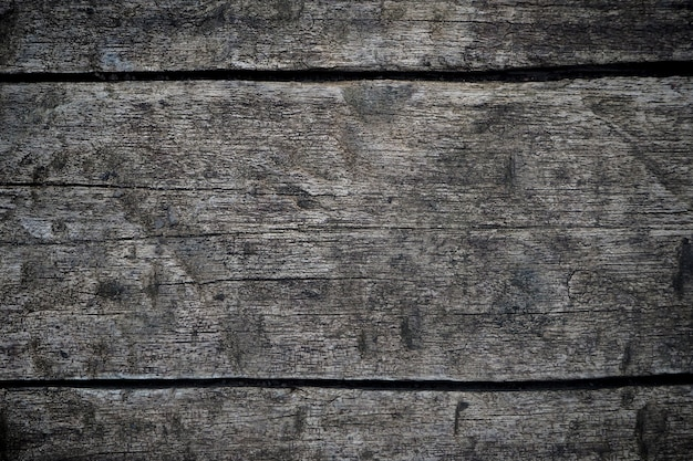 Dunkle hölzerne beschaffenheitshintergrundoberfläche mit altem natürlichem muster. nahaufnahme der schwarzen wand holz textur hintergrund (quer) Premium Fotos