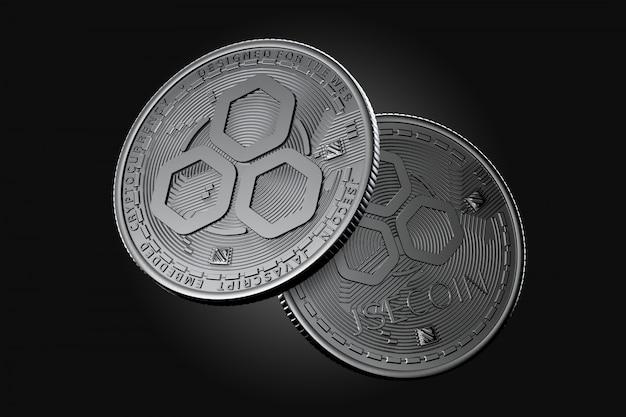 Dunkle jse-münzen Premium Fotos