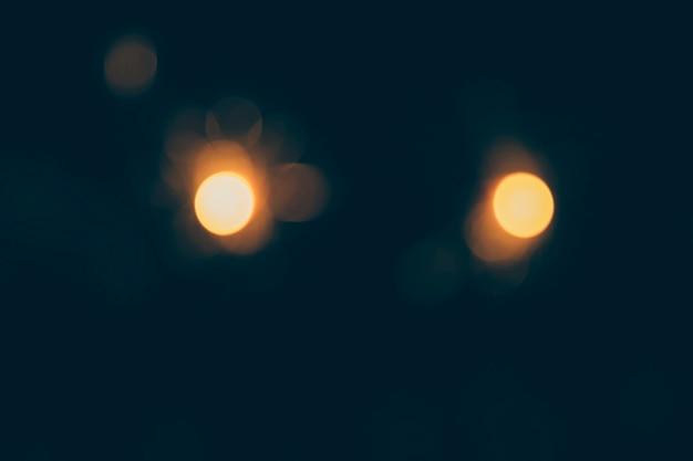 Dunkler hintergrund von bokeh-lichtern Kostenlose Fotos