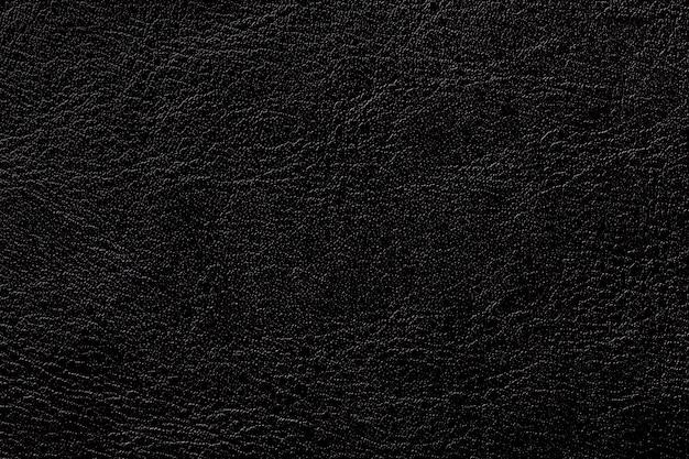 Dunkler tintenleder-beschaffenheitshintergrund, nahaufnahme. schwarzer gebrochener hintergrund von der faltenhaut Premium Fotos