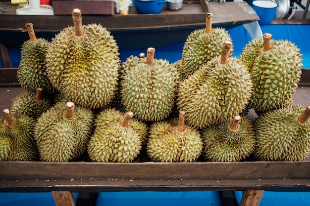 Durian am markt Kostenlose Fotos