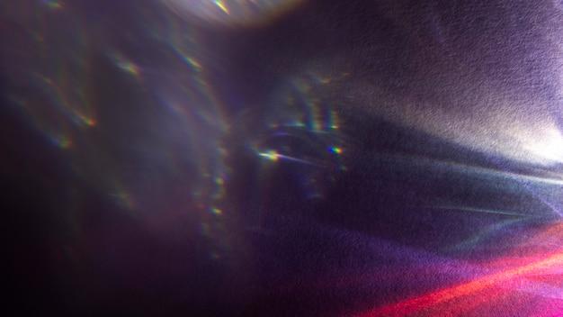 Dynamischer prismeneffekt für helle lichter Kostenlose Fotos