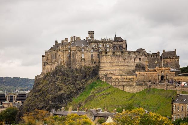 Edinburgh schloss Premium Fotos