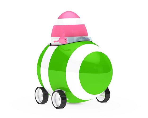 Egg ein grünes fahrzeug fahren Kostenlose Fotos