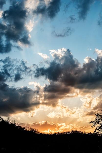Ein himmel mit wolken | Download der kostenlosen Fotos