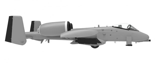 Ein kleines militärflugzeug Premium Fotos