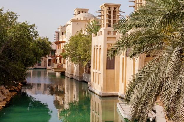 Ein schöner ort, souk madinat jumeirah Premium Fotos