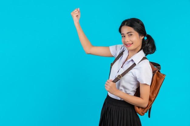 Asiatische Studentin Bestraft