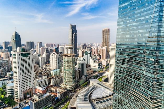 Eine vogelperspektive von shanghai Kostenlose Fotos