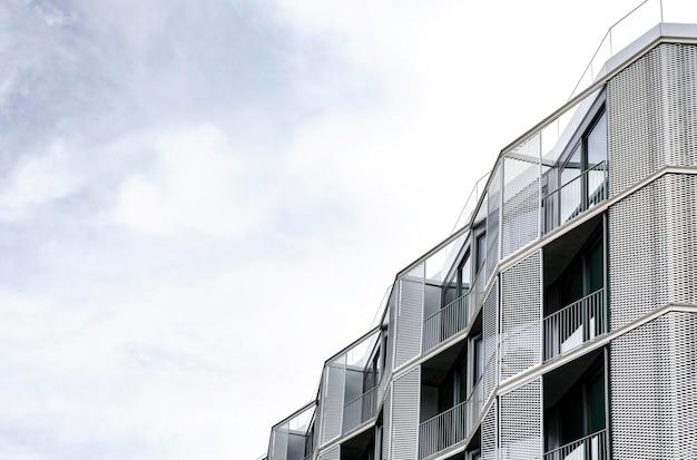 Einfache betonstruktur in der stadt mit kopierraum Kostenlose Fotos