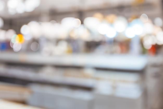 Einkaufszentrum für hintergrund verwischt Premium Fotos