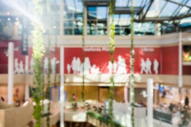 Einkaufszentrum mit unscharfem effekt Kostenlose Fotos
