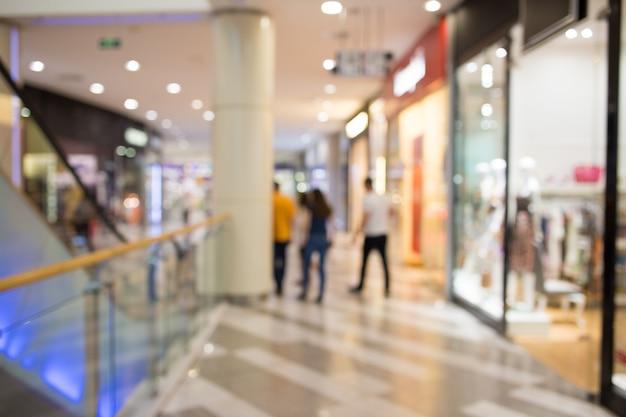 Einkaufszentrum oder kaufhaus Premium Fotos