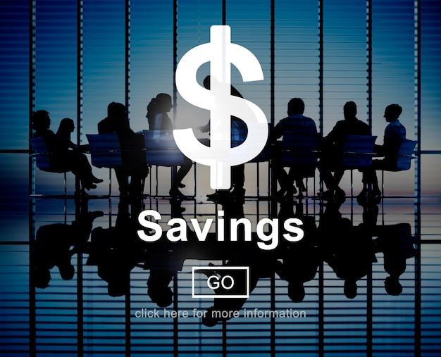Einsparungens-geld-finanzbuchhaltungs-bankverkehrs-konzept Kostenlose Fotos