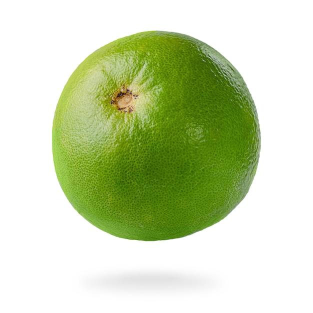 Einzelne süße frucht lokalisiert auf weißem hintergrund. Premium Fotos