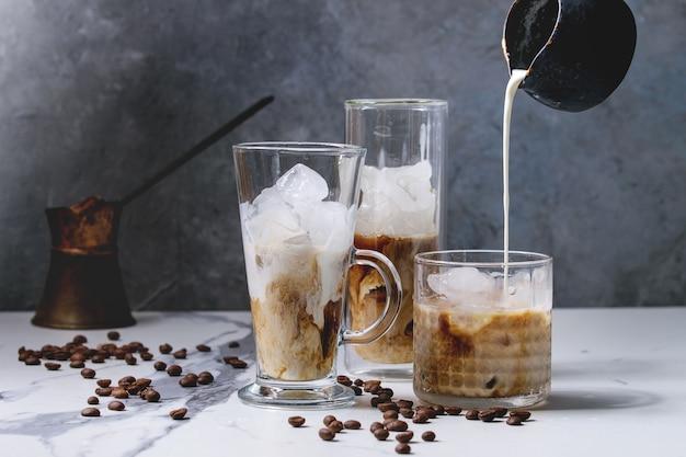 Eiskaffee-cocktail Premium Fotos