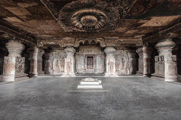 Ellora-höhlen, aurangabad Premium Fotos