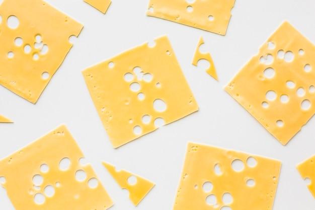 Emmentaler käsescheiben flach legen Kostenlose Fotos