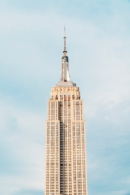 Empire state building in new york Kostenlose Fotos