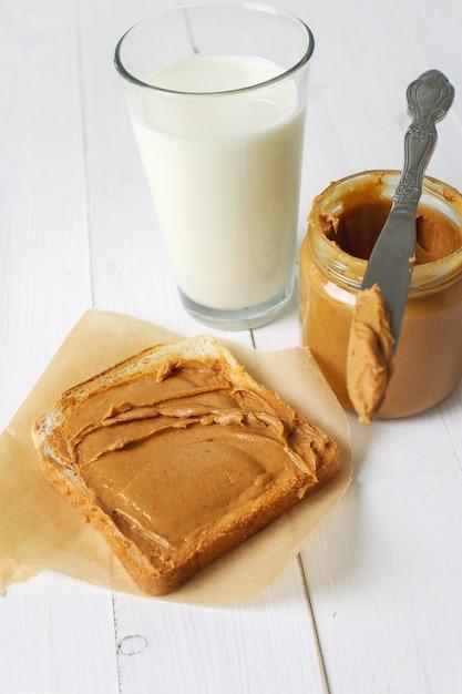 Erdnussbutter-sandwiches Kostenlose Fotos