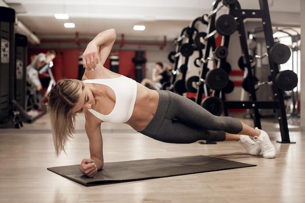 Erwachsener aktiver hintergrund aerobic athletisch Kostenlose Fotos