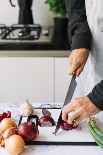 Essen schneiden Kostenlose Fotos