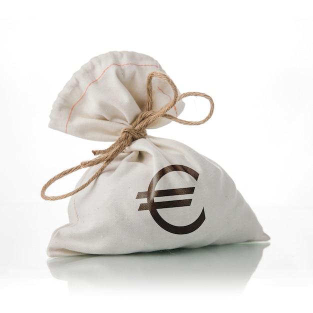 Euro geldsack Premium Fotos